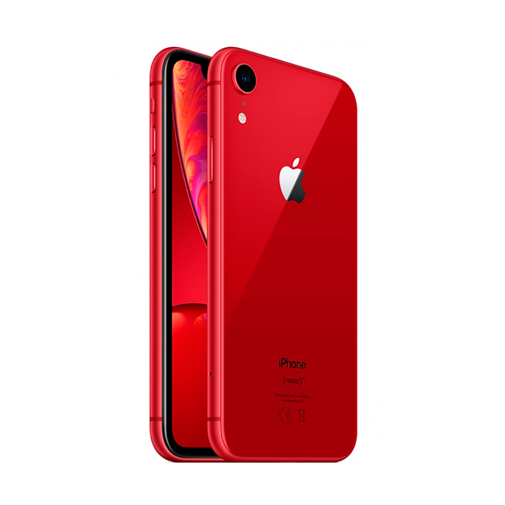 Купить Apple iPhone XR 64Gb (PRODUCT) RED (MRY62)