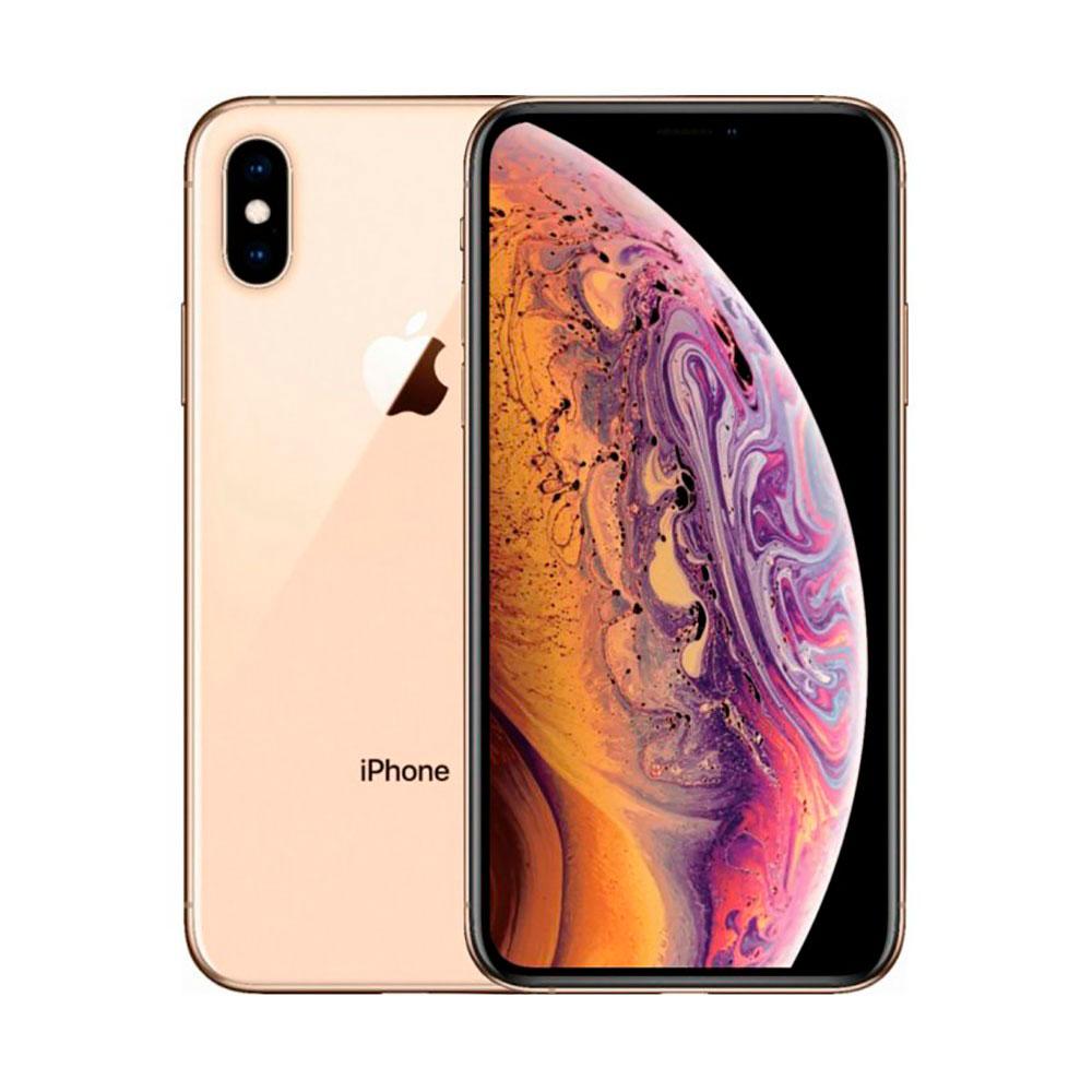 Купить Apple iPhone ХS Max Dual Sim 256Gb Gold (MT762)
