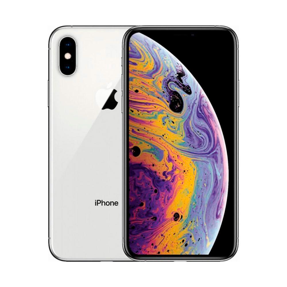 Купить Apple iPhone XS Max Dual Sim 64Gb Silver (MT722)