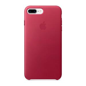 Купить Кожаный чехол Apple Leather Case Berry (MPVU2) для iPhone 7 Plus