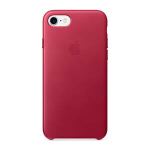 Купить Кожаный чехол Apple Leather Case Berry (MPVG2) для iPhone 7/8