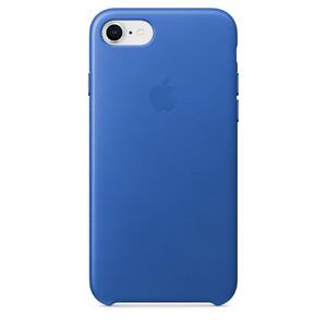 Купить Кожаный чехол Apple Leather Case Electric Blue (MRG52) для iPhone 8/7