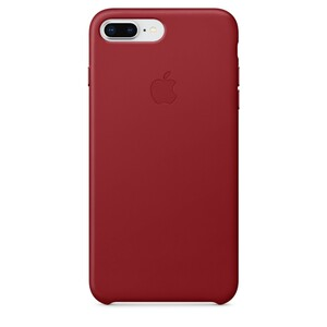 Купить Кожаный чехол Apple Leather Case (PRODUCT) RED (MQHN2) для iPhone 8 Plus/7 Plus