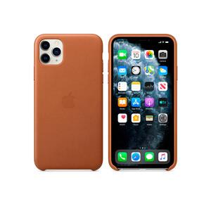 Купить Кожаный чехол Apple Leather Case Saddle Brown (MWYD2) для iPhone 11 Pro