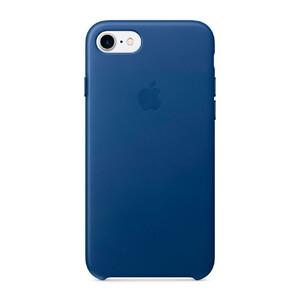 Купить Кожаный чехол Apple Leather Case Sapphire (MPT92) для iPhone 7/8
