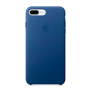 Купить Кожаный чехол Apple Leather Case Sapphire (MPTF2) для iPhone 7 Plus/8 Plus