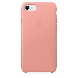 Купить Кожаный чехол Apple Leather Case Soft Pink (MRG62) для iPhone 8/7