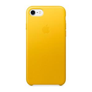 Купить Кожаный чехол Apple Leather Case Sunflower (MQ5G2) для iPhone 7/8