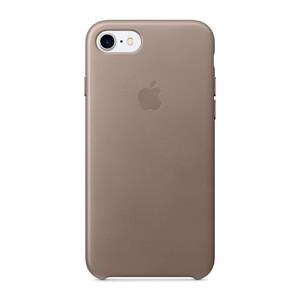Купить Кожаный чехол Apple Leather Case Taupe (MPT62) для iPhone 7/8