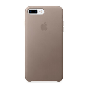 Купить Кожаный чехол Apple Leather Case Taupe (MPTC2) для iPhone 7 Plus/8 Plus