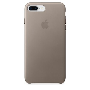 Купить Кожаный чехол Apple Leather Case Taupe (MQHJ2) для iPhone 8 Plus/7 Plus