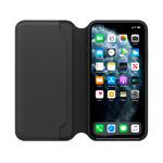 Кожаный чехол-книжка Apple Leather Folio Black (MX082) для iPhone 11 Pro Max