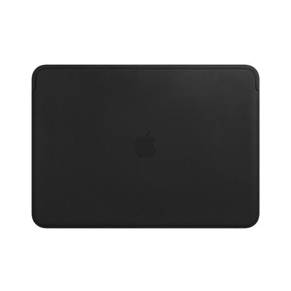 "Кожаный чехол Apple Leather Sleeve Black (MTEH2) для MacBook Pro 13"" | Air 13"""