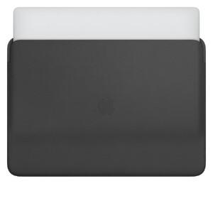 "Купить Кожаный чехол Apple Leather Sleeve Black (MWVA2) для MacBook Pro 16"""