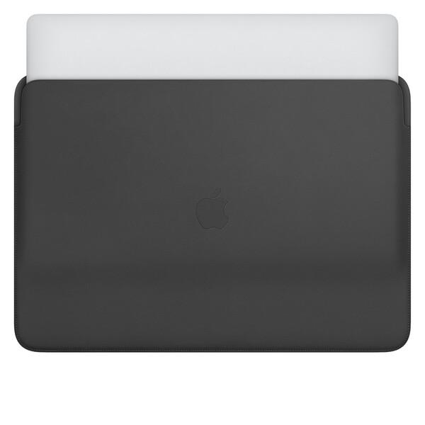 "Кожаный чехол Apple Leather Sleeve Black (MWVA2) для MacBook Pro 16"""