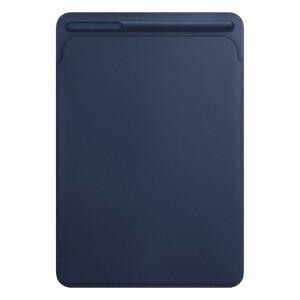 """Купить Кожаный чехол Apple Leather Sleeve Midnight Blue (MPU22) для iPad Pro 10.5"""" (2017)"""