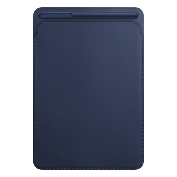 "Кожаный чехол-карман Apple Leather Sleeve Midnight Blue (MPU22) для iPad Air 3 (2019) |  Pro 10.5"""