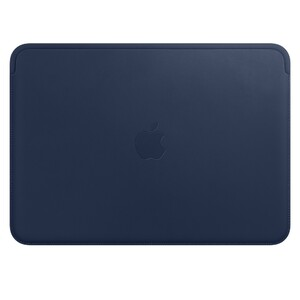 "Купить Кожаный чехол Apple Leather Sleeve Midnight Blue (MQG02) для MacBook 12"""