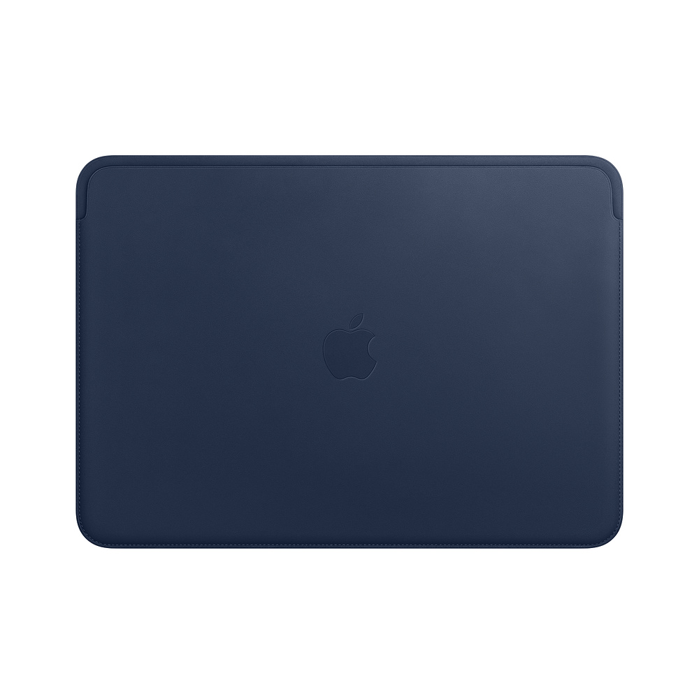"Купить Кожаный чехол Apple Leather Sleeve Midnight Blue (MRQL2) для MacBook Pro 13"" | Air 13"""