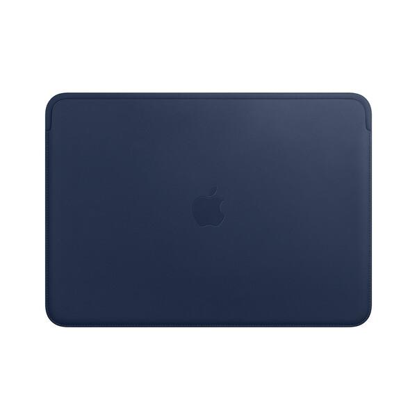 "Кожаный чехол Apple Leather Sleeve Midnight Blue (MRQL2) для MacBook Pro 13"" | Air 13"""