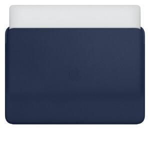 "Купить Кожаный чехол Apple Leather Sleeve Midnight Blue (MWVC2) для MacBook Pro 16"""