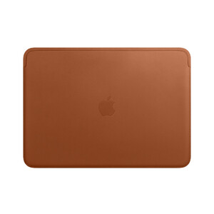 "Купить Кожаный чехол Apple Leather Sleeve Saddle Brown (MRQM2) для MacBook Pro 13""/Air 13"" (2018)"
