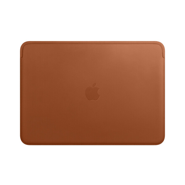 "Кожаный чехол Apple Leather Sleeve Saddle Brown (MRQM2) для MacBook Pro 13"" | Air 13"""