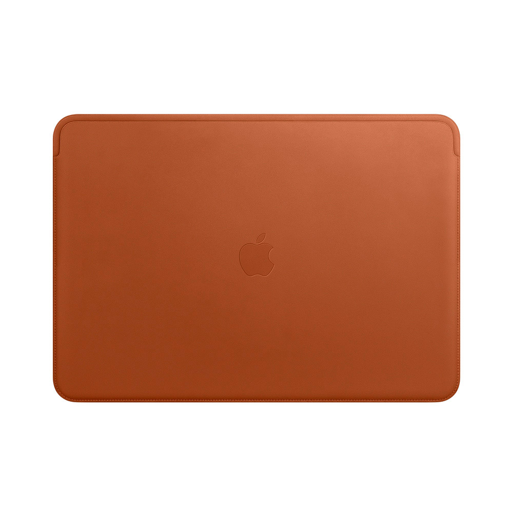 "Купить Кожаный чехол Apple Leather Sleeve Saddle Brown (MRQV2) для MacBook Pro 15"" with Touch Bar"