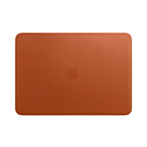 "Купить Кожаный чехол Apple Leather Sleeve Saddle Brown (MRQV2) для MacBook Pro 15"" with Touch Bar"