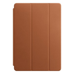 "Купить Чехол Apple Leather Smart Cover Saddle Brown (MPU92) для iPad 7 10.2""/Air 3/Pro 10.5"""