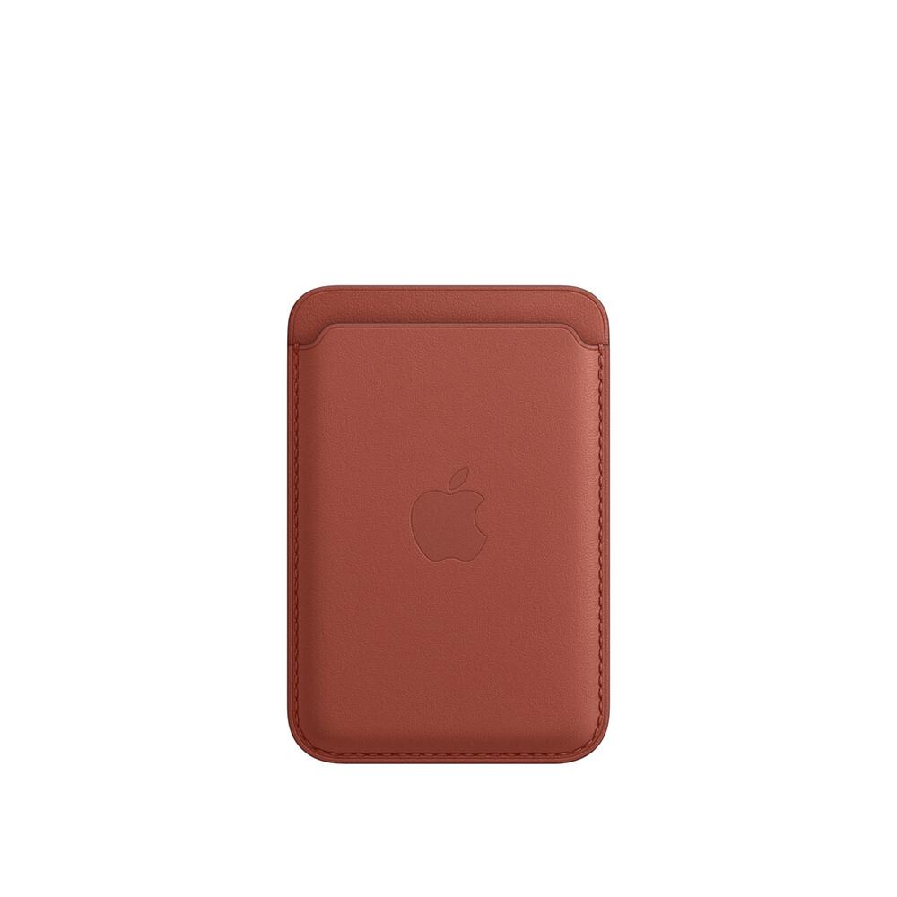 Купить Кожаный чехол-бумажник Apple Leather Wallet Arizona (MK0E3) для iPhone 12 | 12 mini | 12 Pro | 12 Pro Max