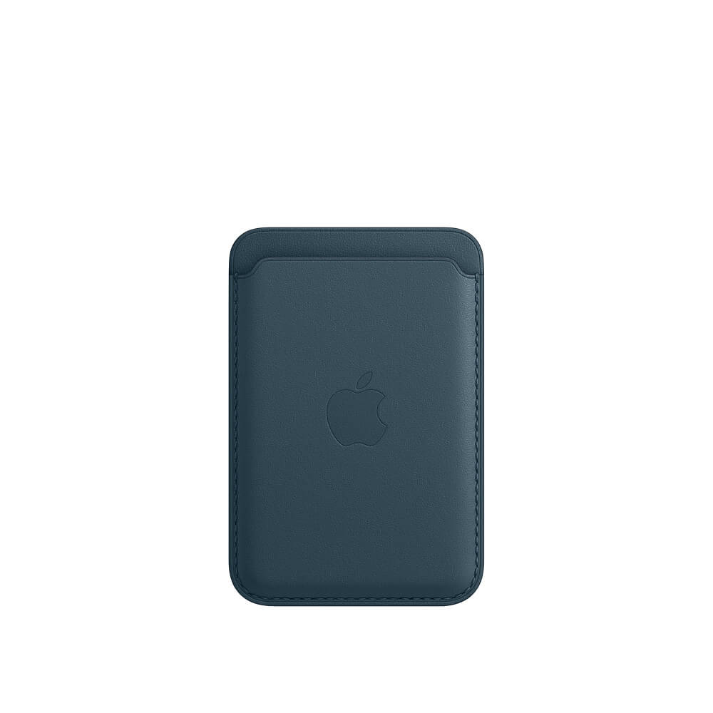 Купить Кожаный чехол-бумажник Apple Leather Wallet Baltic Blue (MHLQ3) для iPhone 12 | 12 mini | 12 Pro | 12 Pro Max