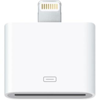 Купить Адаптер (переходник) Apple Lightning to 30-pin Adapter (MD823) для iPhone   iPad (Без коробки)