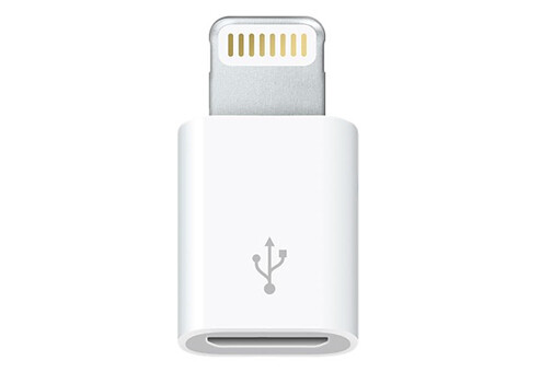 Переходник с Apple Lightning на Micro-USB (MD820)