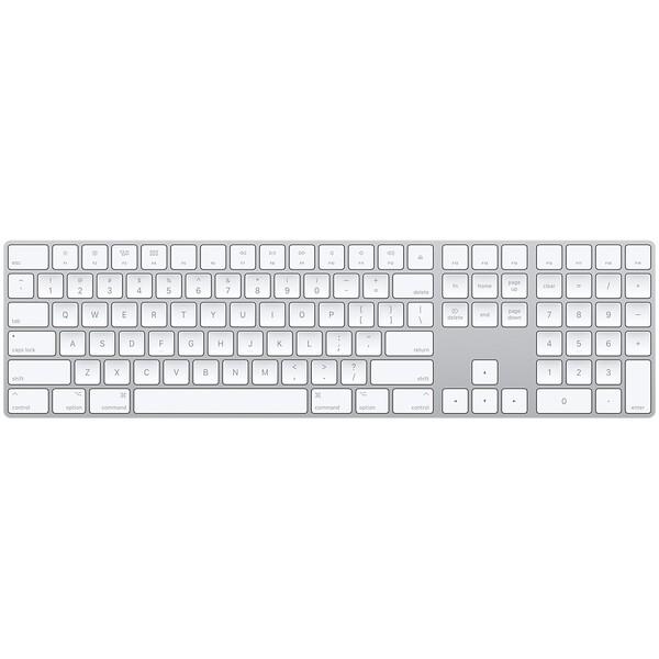 Клавиатура Apple Magic Keyboard with Numeric Keypad Silver (MQ052)
