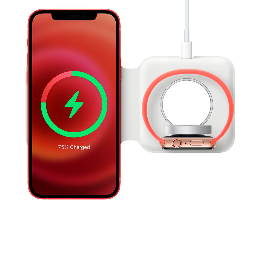 Купить Зарядное устройство Apple MagSafe Duo Charge для iPhone | AirPods | Apple Watch (MHXF3)