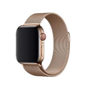 Купить Ремешок Apple Milanese Loop Gold (MTU42) для Apple Watch 40mm/38mm Series 5/4/3/2/1