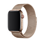 Ремешок Apple Milanese Loop Gold (MTU72) для Apple Watch 44mm/42mm Series 4/3/2/1