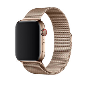 Купить Ремешок Apple Milanese Loop Gold (MTU72) для Apple Watch 44mm/42mm Series 5/4/3/2/1