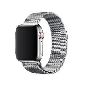 Купить Ремешок Apple Milanese Loop Silver (MTU22) для Apple Watch 40mm/38mm Series 4/3/2/1