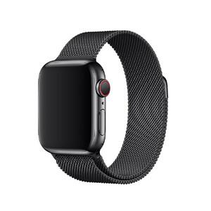 Купить Ремешок Apple Milanese Loop Space Black (MTU12) для Apple Watch 40mm/38mm Series 5/4/3/2/1