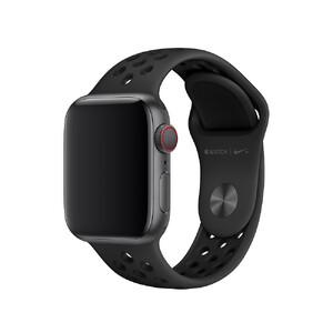 Купить Ремешок Apple Nike Sport Band Anthracite/Black S/M&M/L (MTMP2) для Apple Watch 40mm/38mm Series 1/2/3/4