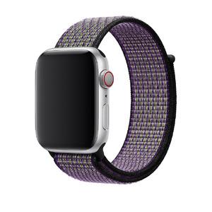 Купить Ремешок Apple Nike Sport Loop Desert Sand/Volt (MWU52) для Apple Watch 44mm/42mm Series 5/4/3/2/1