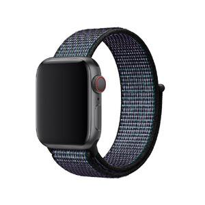 Купить Ремешок Apple Nike Sport Loop Hyper Grape (MV892) для Apple Watch 40mm/38mm Series 1/2/3/4