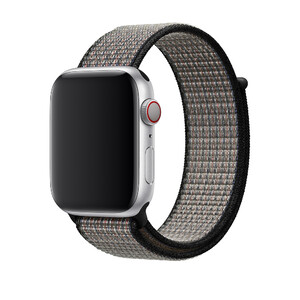 Купить Ремешок Apple Nike Sport Loop Royal Pulse/Lava Glow (MWU32) для Apple Watch 44mm/42mm Series 5/4/3/2/1