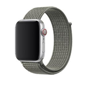 Купить Ремешок Apple Nike Sport Loop Spruce Fog (MV8D2) для Apple Watch 44mm/42mm Series 1/2/3/4