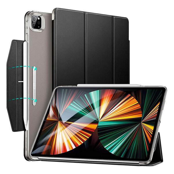 "Чехол-книжка с держателем для Apple Pencil ESR Ascend Frosted Black для iPad Pro 12.9"" M1 (2021)"