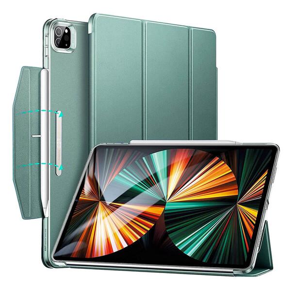 """Чехол-книжка с держателем для Apple Pencil ESR Ascend Cactus для iPad Pro 12.9"""" M1 (2021)"""
