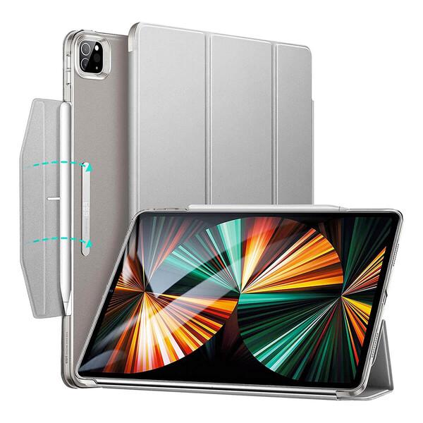 """Чехол-книжка с держателем для Apple Pencil ESR Ascend Grey для iPad Pro 12.9"""" M1 (2021)"""