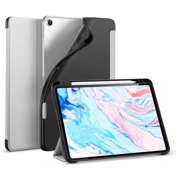 Чехол-книжка с держателем для Apple Pencil ESR Rebound Pencil Gray для iPad Air 4 (2020)